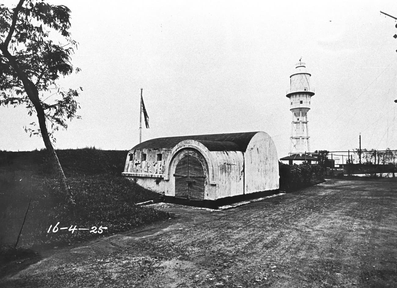 Bunker at Fort Canning, 1925