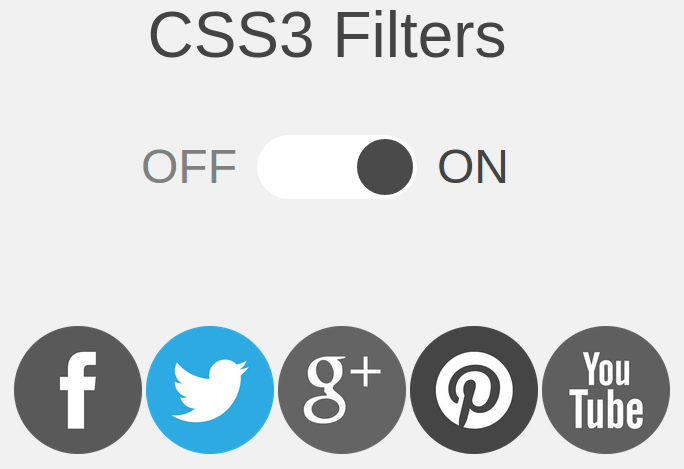 CSS3 Filters Preview