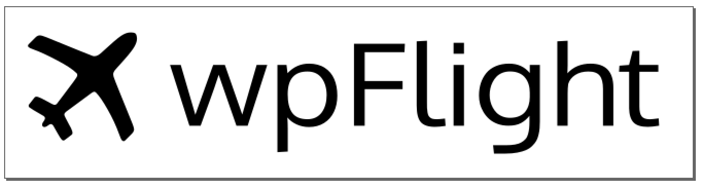 wpFlight logo with Oxygen