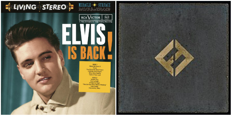 Elvis Is Back!, Concrete and Gold