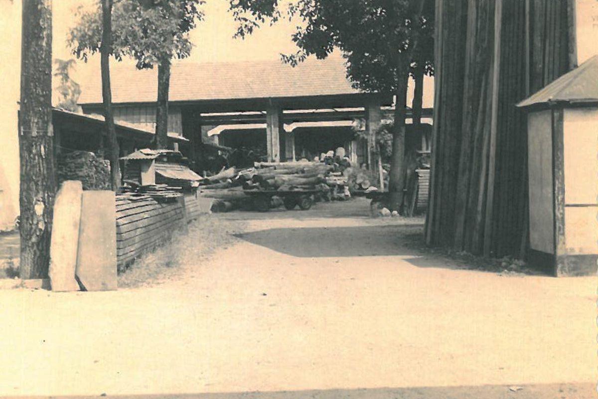 i capannoni Galimberti nella vecchia sede di Meda