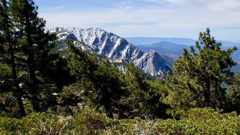 View of Tahquitz Peak