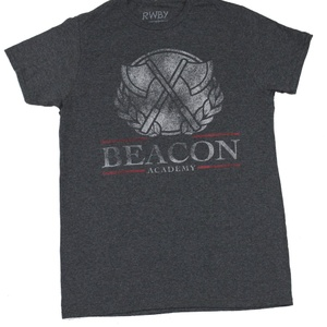 RWBY Beacon Grey Heather T-Shirt