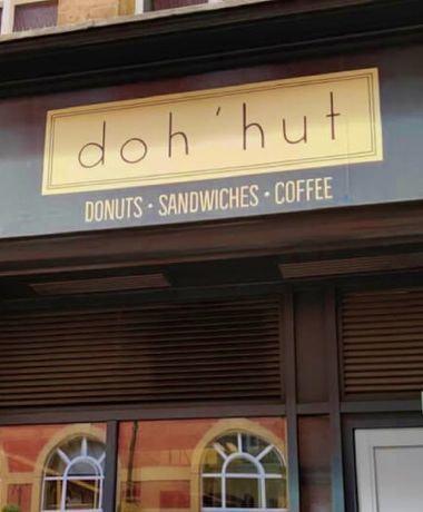 Doh'hut in Leeds city centre
