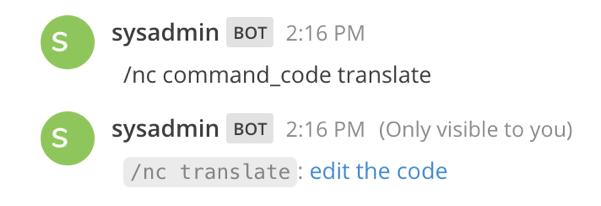 Edit the code