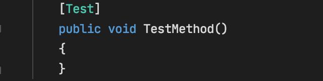 NUnit Test Attribute