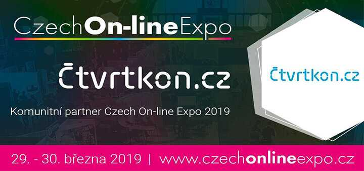 Čtvrtkon partnerem Czech On-line Expo