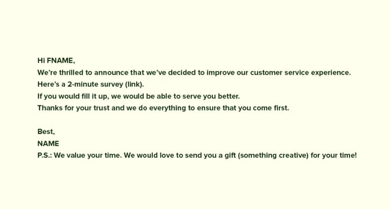 Frustration email