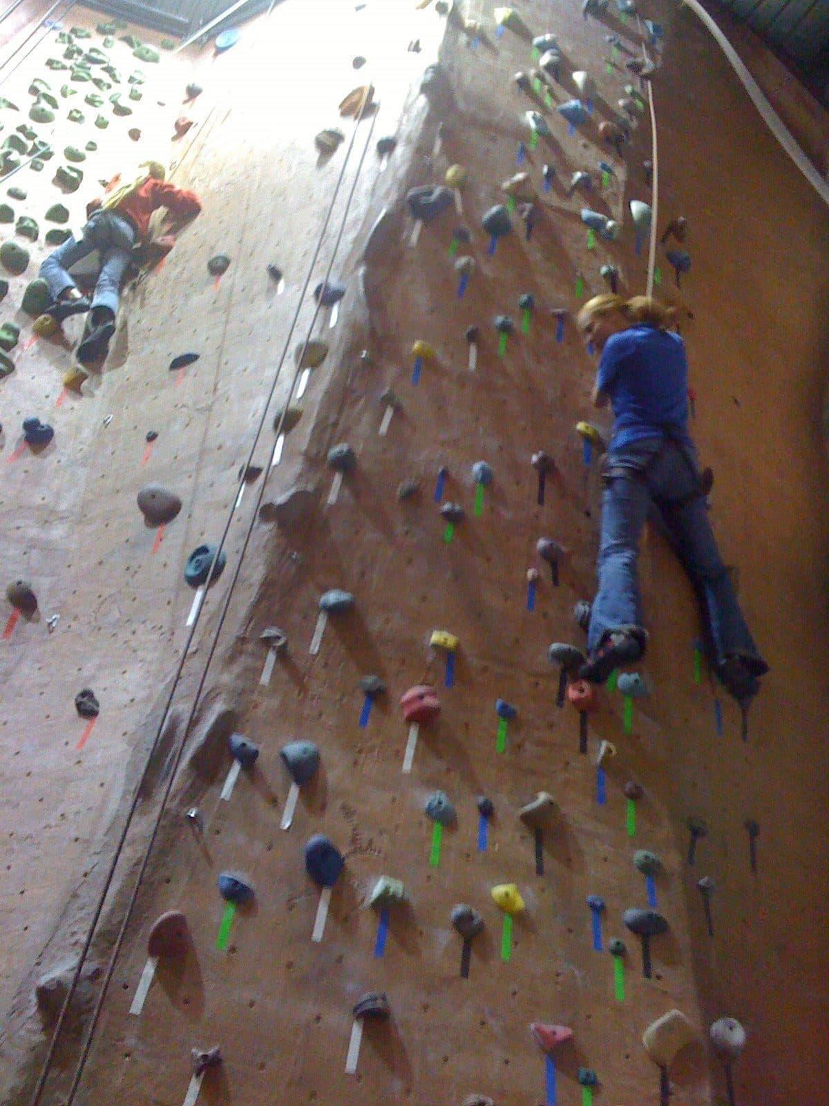 rock climbing 6