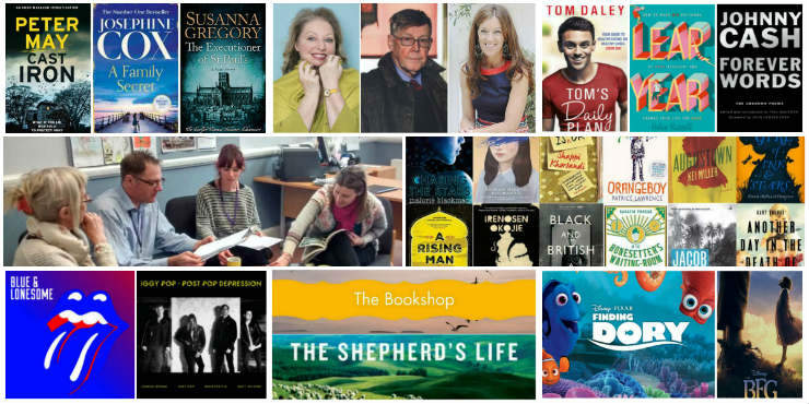 New suggestions collage of books and authors