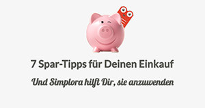 7 Spar Tipps