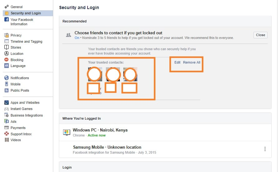 How do I recover my Facebook account with trusted contacts? - Which