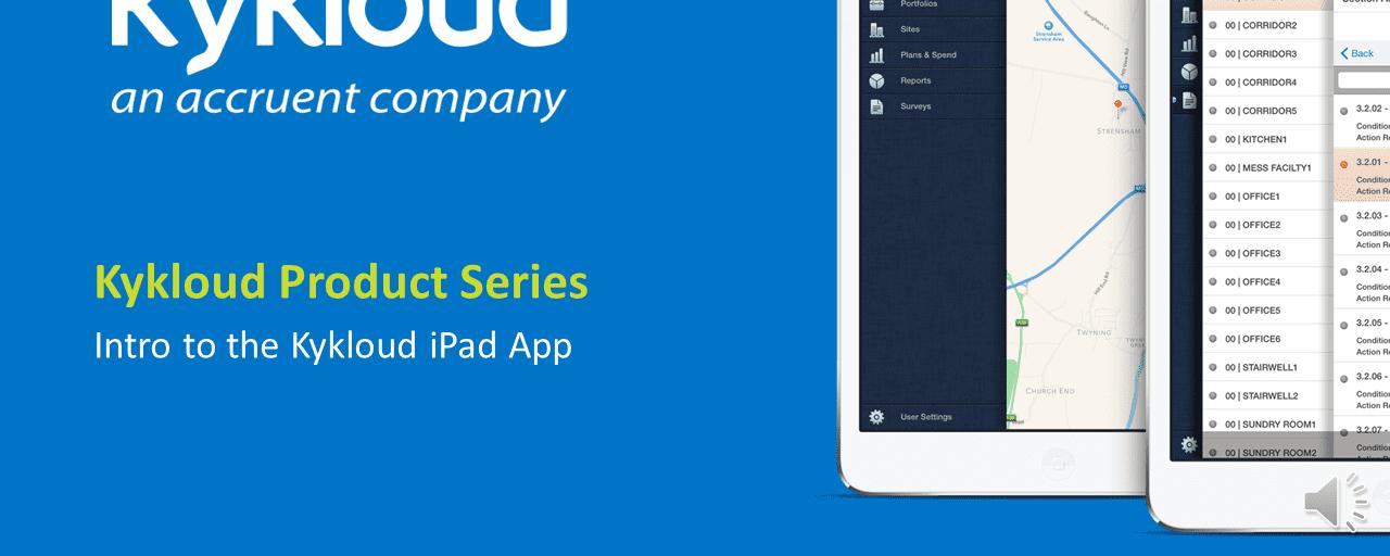Accruent - Resources - Webinars - KyKloud Demo Series Session 1: Intro to the Kykloud iPad App - Hero