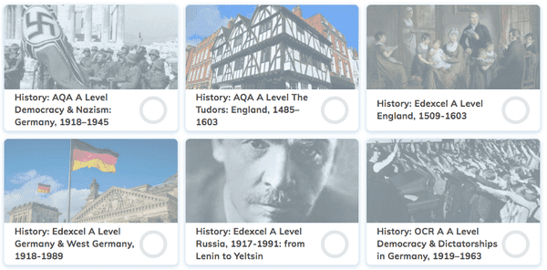 A Level History Revision Tool