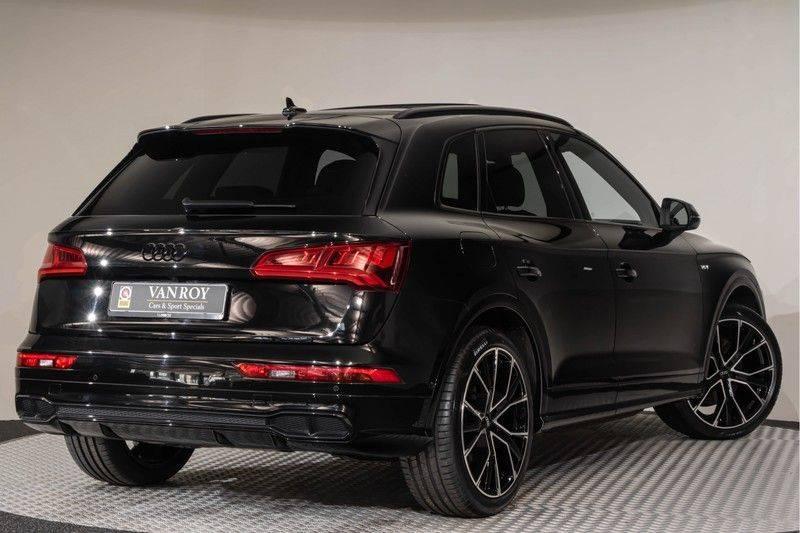 "Audi SQ5 3.0 TFSI 354pk Quattro Black Edition Panoramadak Luchtvering Valconaleder B&O Matrix-Dynamisch Keyless Navi-High ACC DriveSelect  21""Performance Camera Pdc afbeelding 8"