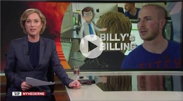 Mediedækning Billy Regnskabsprogram