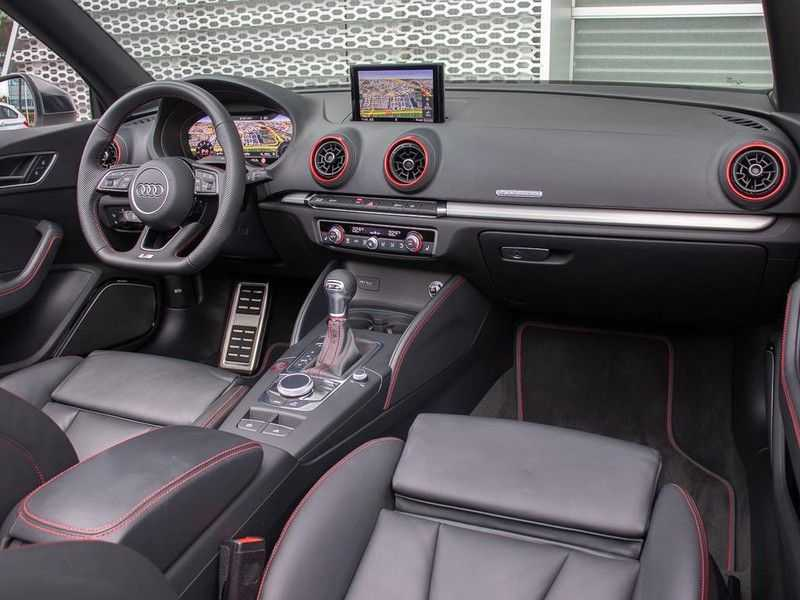 Audi A3 cabriolet 2.0 TFSI S3 quattro | B&O Sound | Adapt.Cruise | Dynamic RED | Stoelverwarming | LED | Climate-control | afbeelding 14