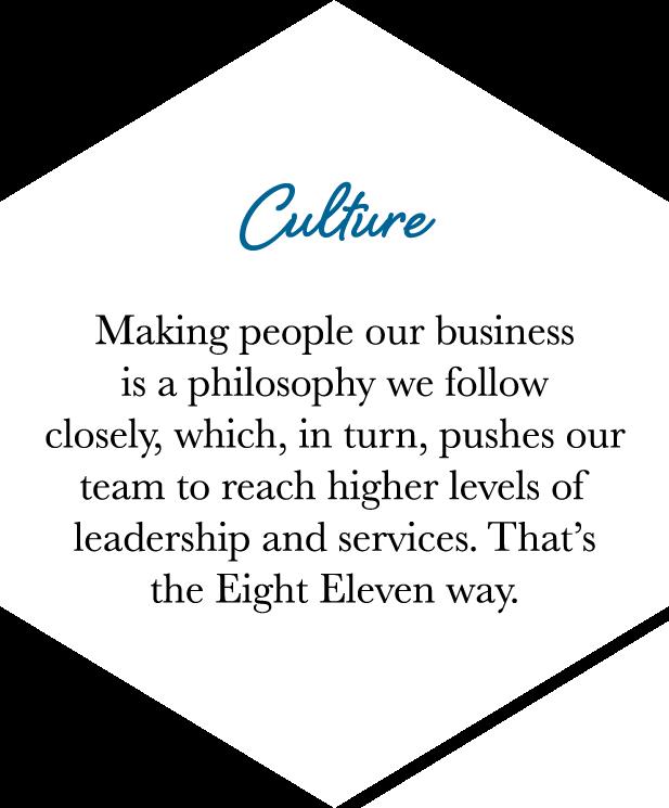 Core Values - Culture