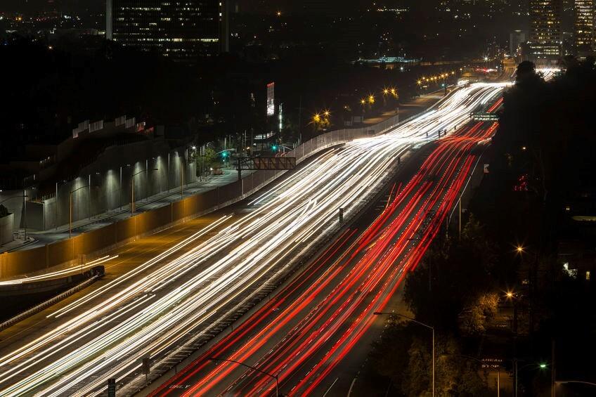 highway timelapse