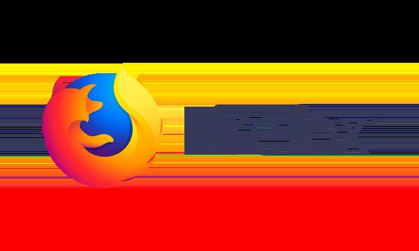Firefox Standard Horizontal Lockup