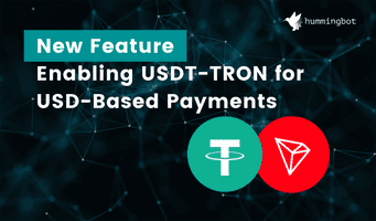 New feature: enabling USDT-TRON for USD-based payments
