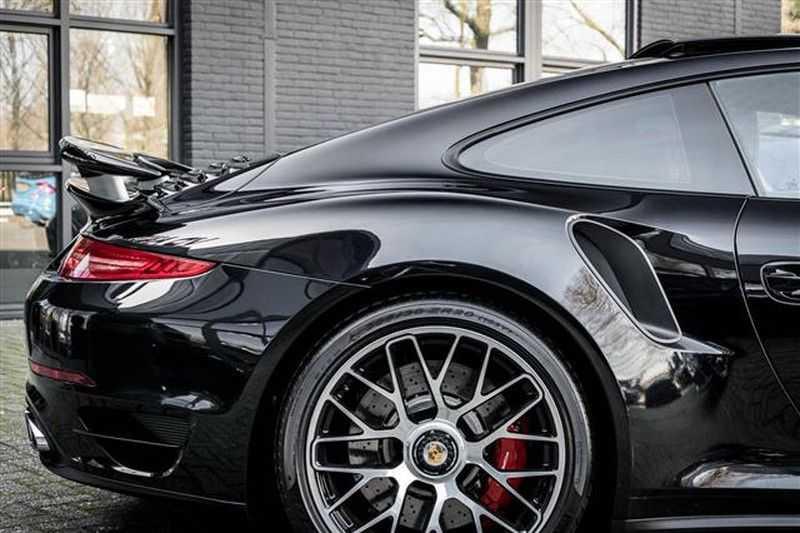 Porsche 911 TURBO GLAS DAK+ADAPT.STOELEN+CAMERA afbeelding 15