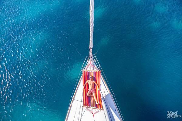Sunbathing Tips When Sailing in Greece