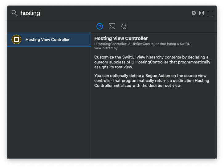 Hosting View Controller