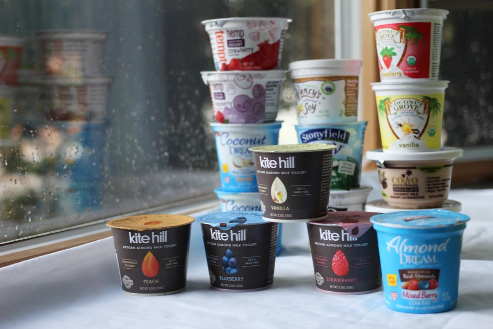 15 kinds of vegan yogurt