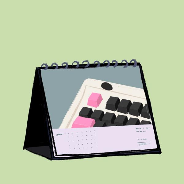 Keyboard Calendar
