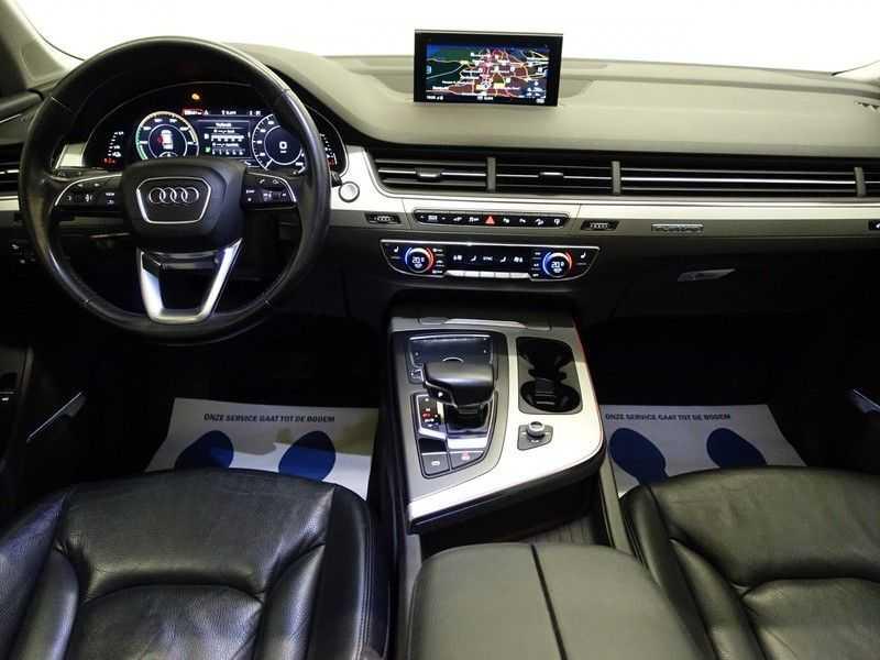 Audi Q7 3.0 TDI E-tron Quattro 374pk S-line Premium Autom- Pano, Virtual Cockpit, Bose, Leer, Camera afbeelding 4