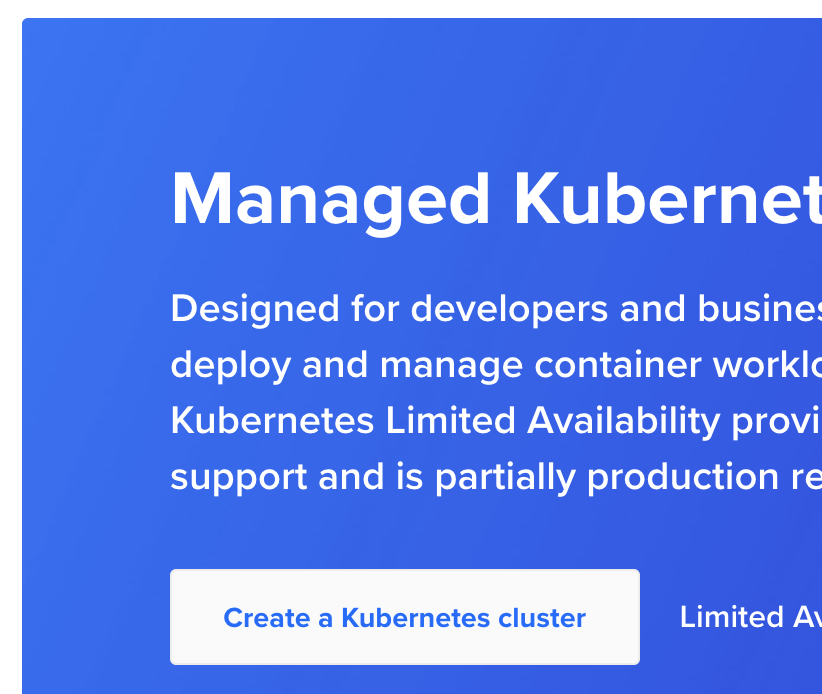 Kubernetes on Digital Ocean Screenshot #3