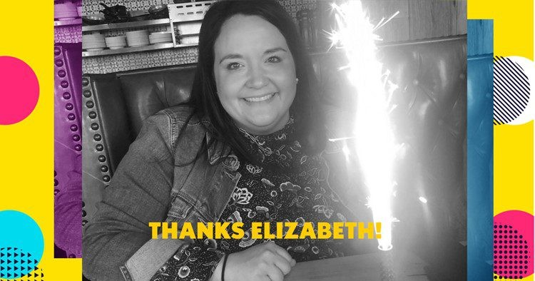 A thank you to The PM Group employee Elizabeth Bomes