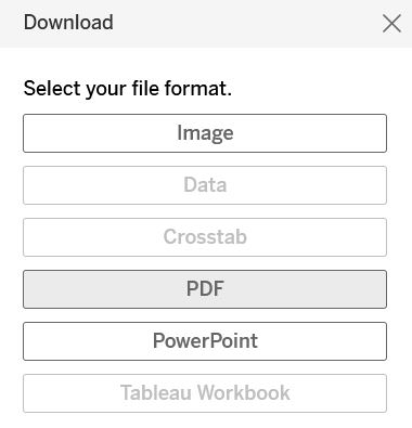 The download prompt for the state COVID dashboard