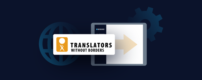 Translators Without Borders Partners With Memsource