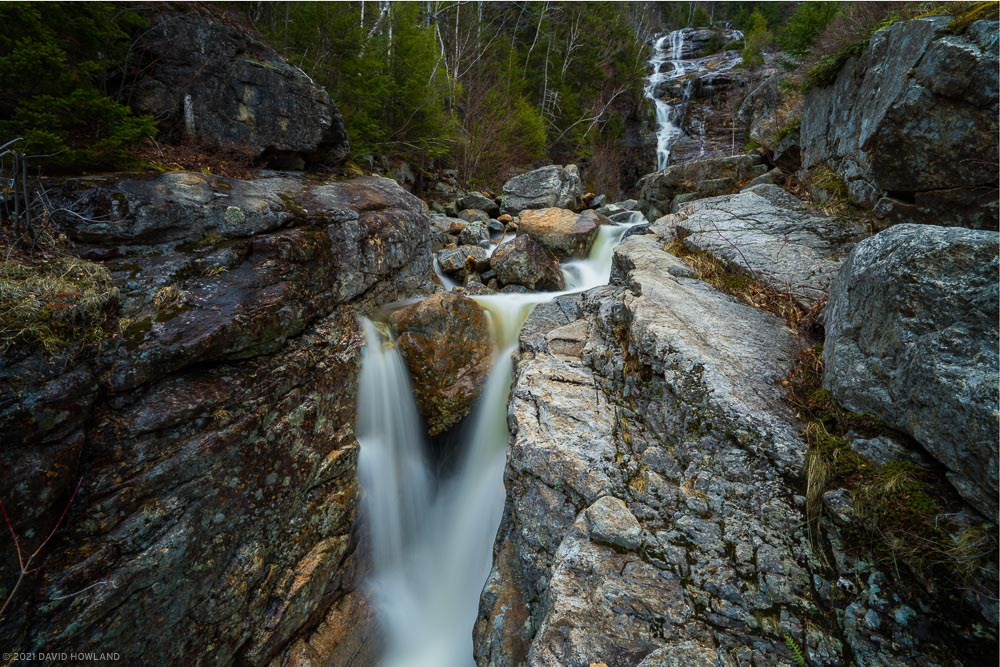 Crawford Notch Waterfalls