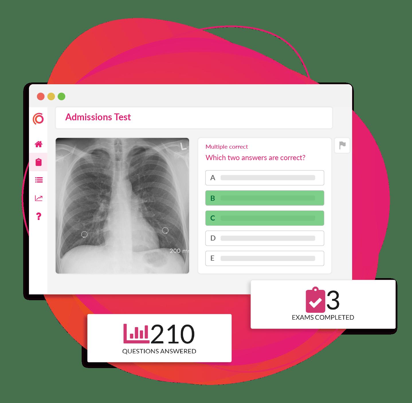 Online exam platform - Synap