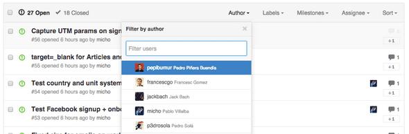 Github Labels Screenshot