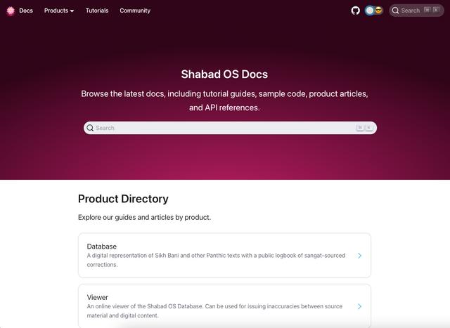 Shabad OS Docs