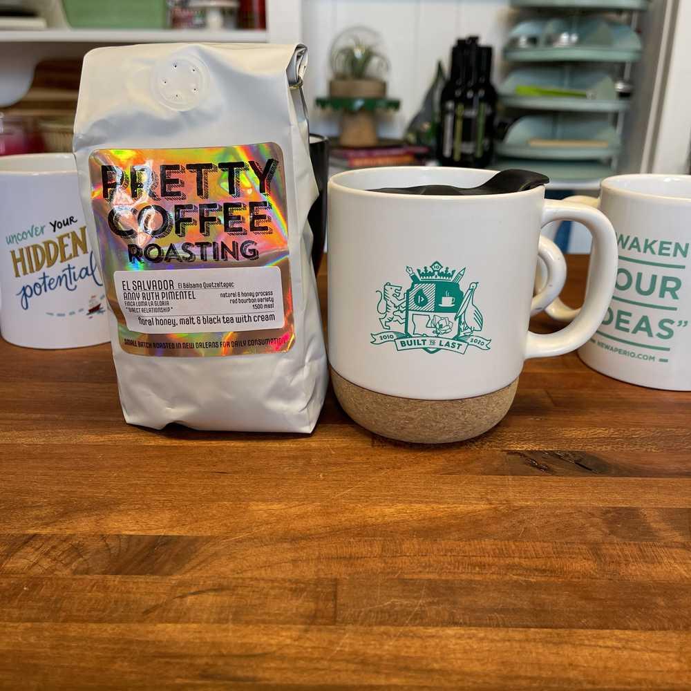 NewAperio - Built to Last coffee mug