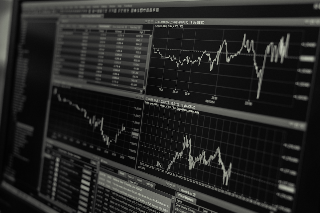 online stock market graphs