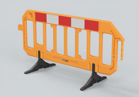Orange gate barrier