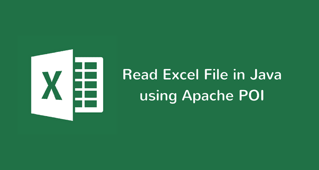 How to Read Excel files in Java using Apache POI