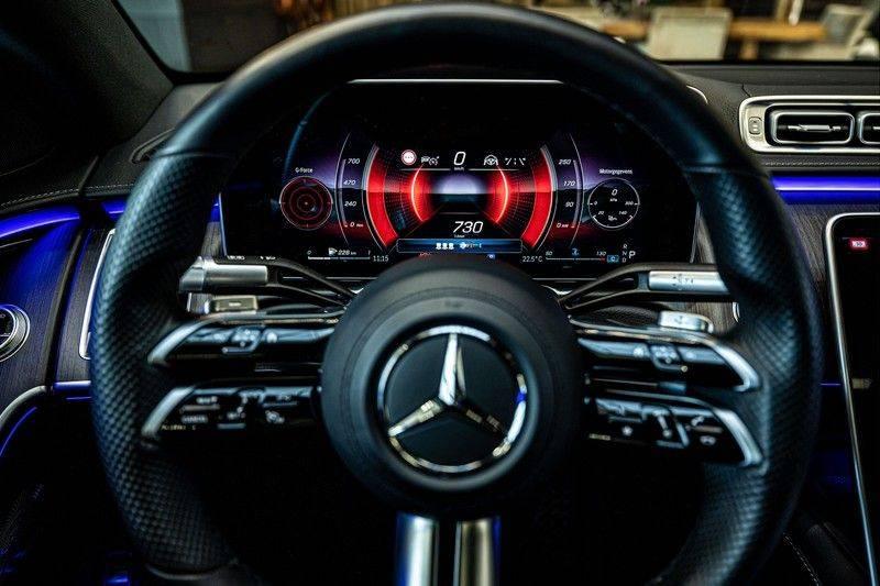 Mercedes-Benz S-Klasse 400d 4Matic Lang AMG | 3D Display | Augmented Head-Up Display | Burmester 3D | Pano | Memory afbeelding 10