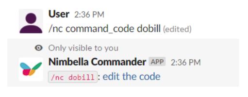 DigitalOcean bill in slack command that lets you edit the code