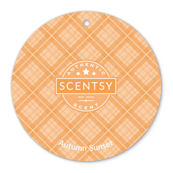 Autumn Sunset Scent Circle