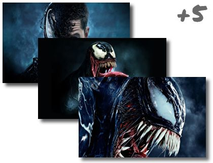 Venom theme pack