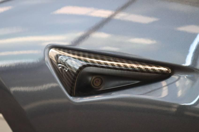"""Tesla Model 3 Long Range   prijs ex.btw 45.889,-   4% 19""""LM Grijs Zwart Performance Look afbeelding 10"""