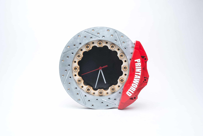 Disc Brake Clock