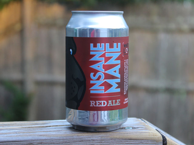 Insane Mane, a Red Ale brewed by White Lion Brewing Company